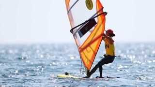 China's Lu wins women's sailing gold in back-and-forth final race