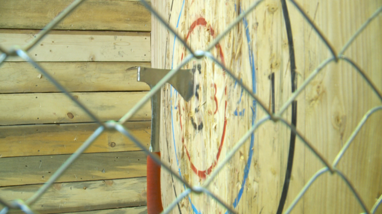 Utah's liquor control commission debates alcohol and axe throwing