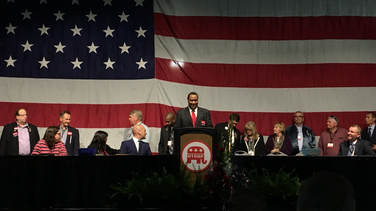 Utah Republican Party ousts chairman at stateconvention
