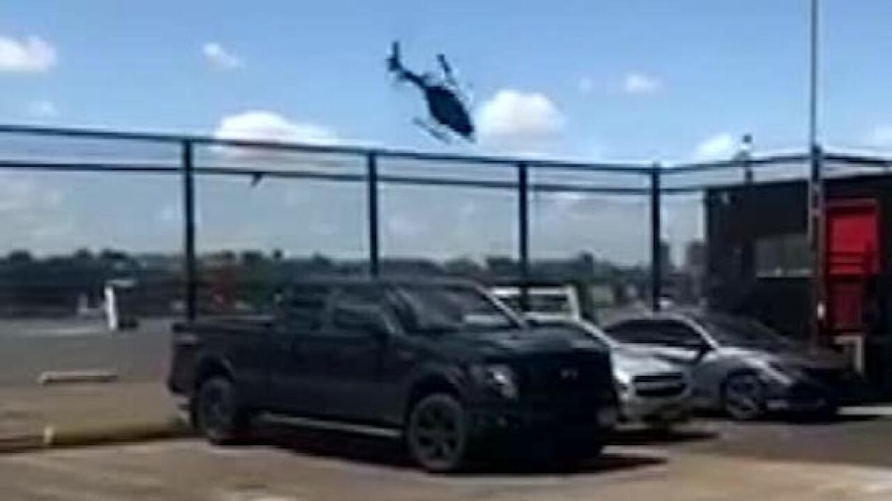 Pilot survives terrifying helicopter crash into HudsonRiver
