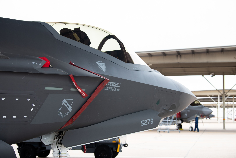 Photos: HAFB fighter wings receive final F-35A LightningII