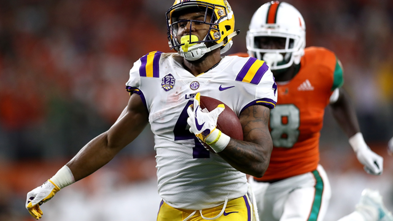 LSU off and running with 33-17 win over No. 8 Miami