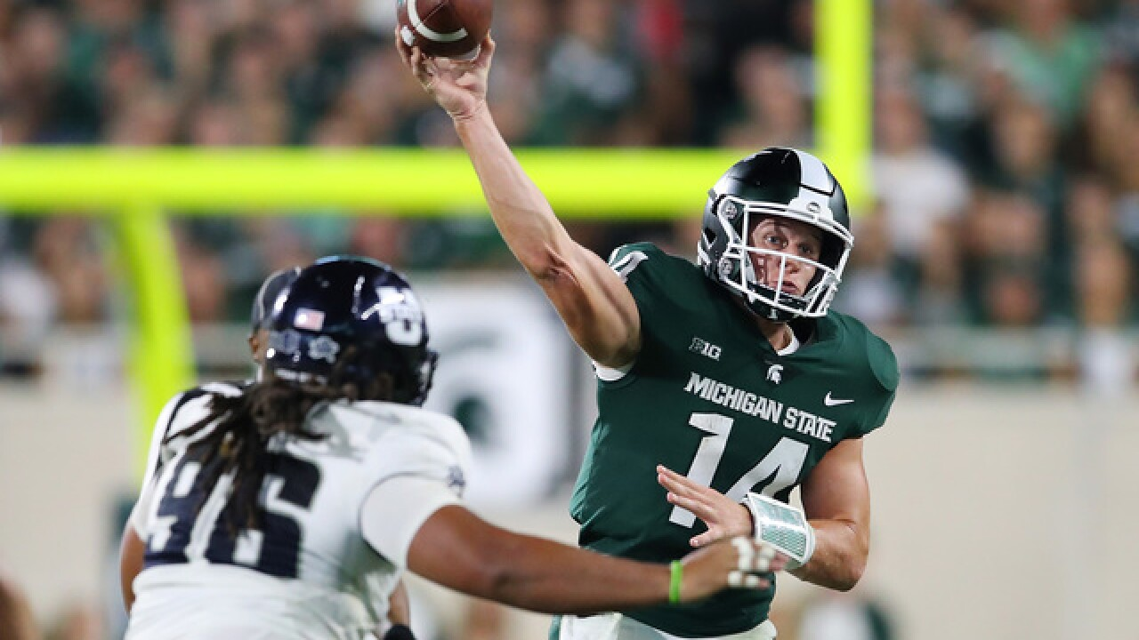 No. 11 Spartans have room for improvement after dicey opener