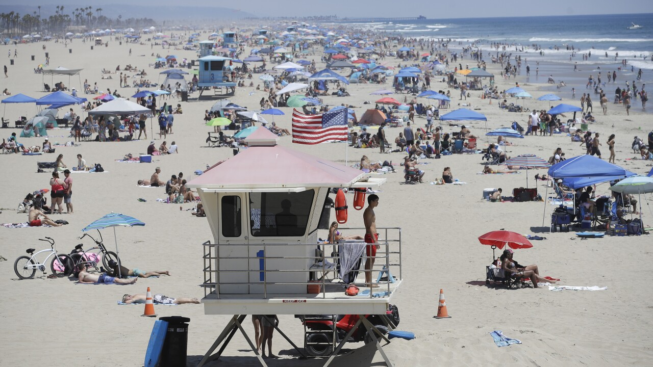 LA closing beaches, limiting gatherings during Fourth of July weekend to prevent spread of COVID-19