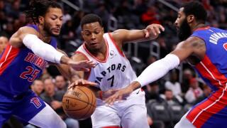 Kyle_Lowry_Toronto Raptors v Detroit Pistons