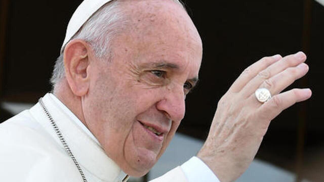 Pope pushes Christians to care for the environment