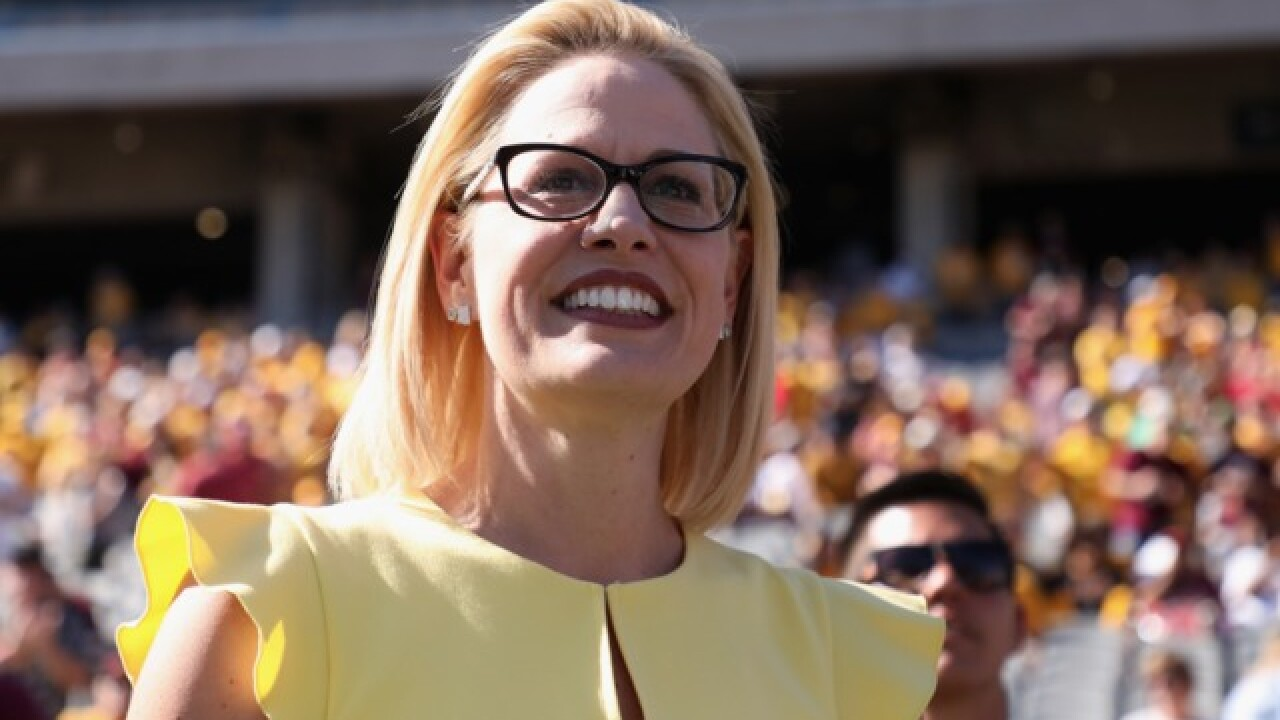 Democrats flip Arizona US Senate seat with Sinema victory