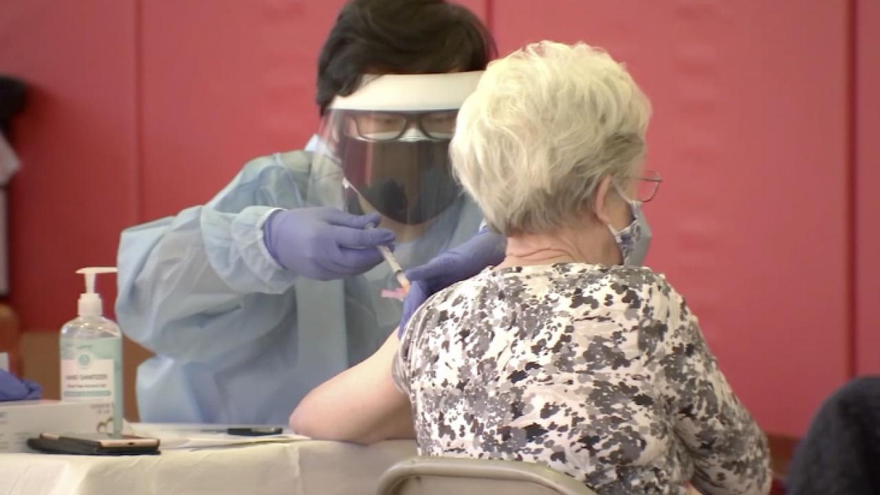 Riverside County seniors begin receiving COVID-19 vaccine while local seniors wait