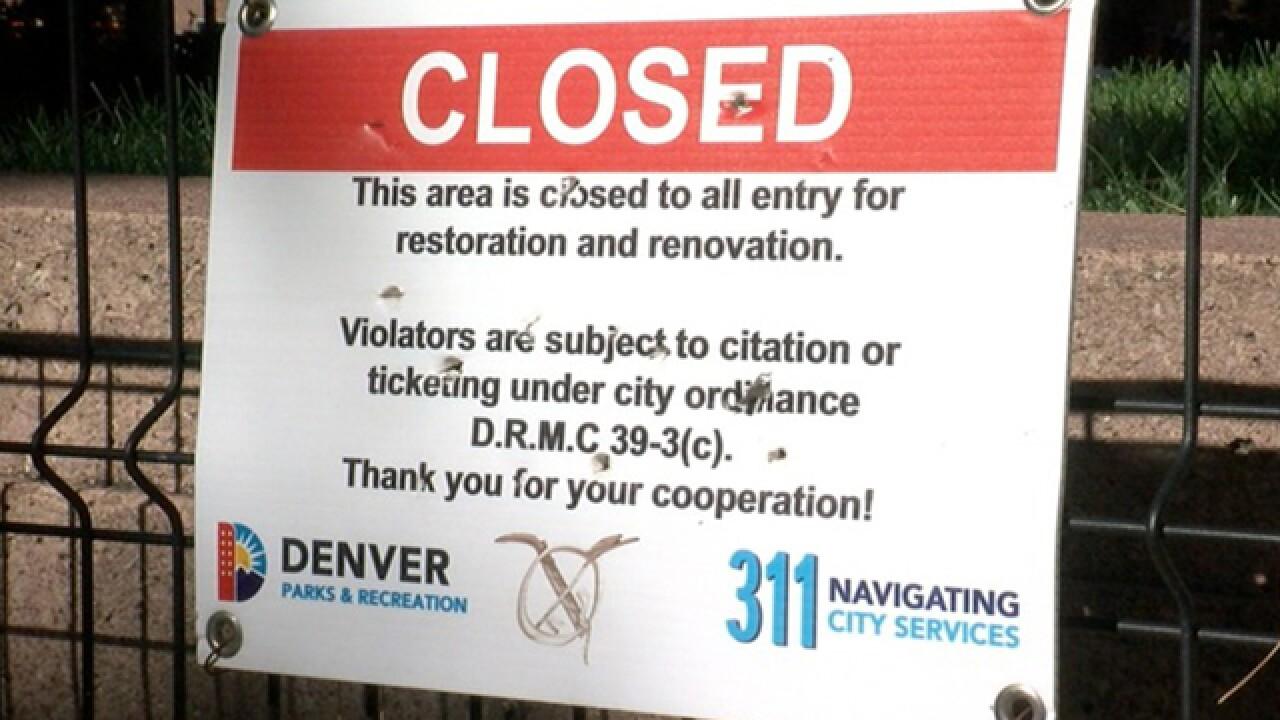 Denver responds to complaints about Skyline Park