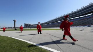 High Schools Are Holding Socially Distant Graduations At The Texas Motor Speedway