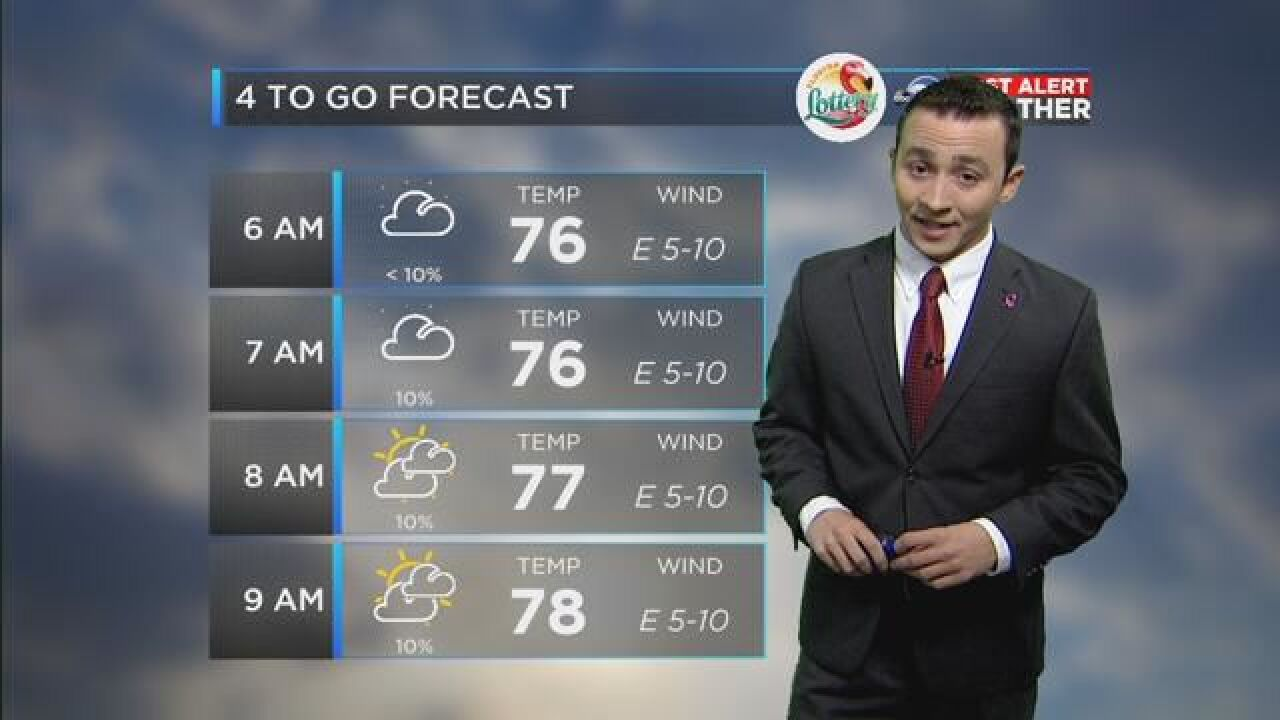 First Alert 4-to-Go Forecast: Oct. 9, 2018
