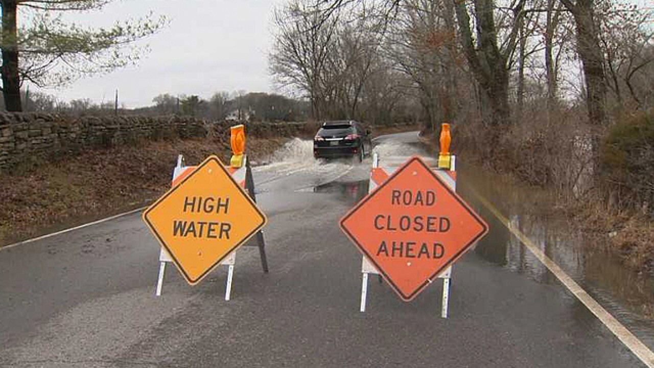 Heavy Rain, Flooding Hit Williamson County