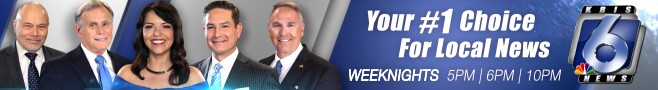 KRIS 6 News is your number one choice for local news. Weeknights at 5, 6 and 10 PM.