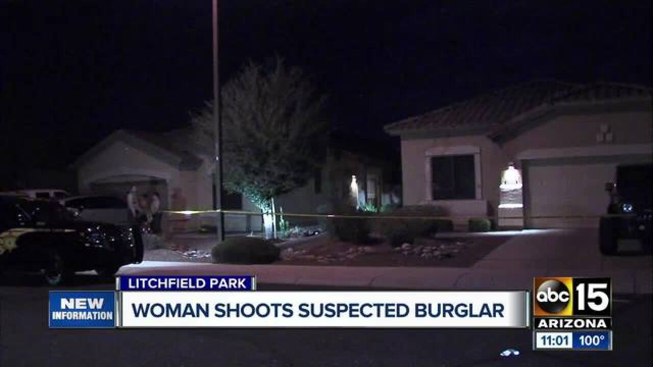 MCSO: Man shot during Litchfield Park break-in