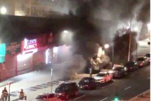 1 dead, 17 injured in Harlem subway fire