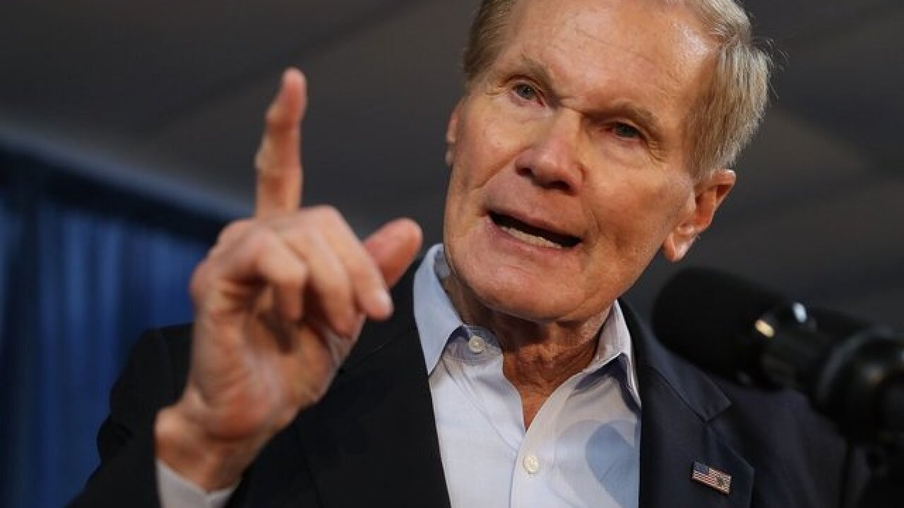 Senator Nelson vows that Tyndall Air Force Base will be rebuilt