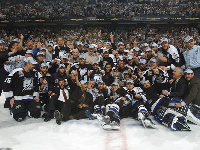 8ceac7c2ca7 GALLERY  Relive the 2004 Tampa Bay Lightning Stanley Cup Championship