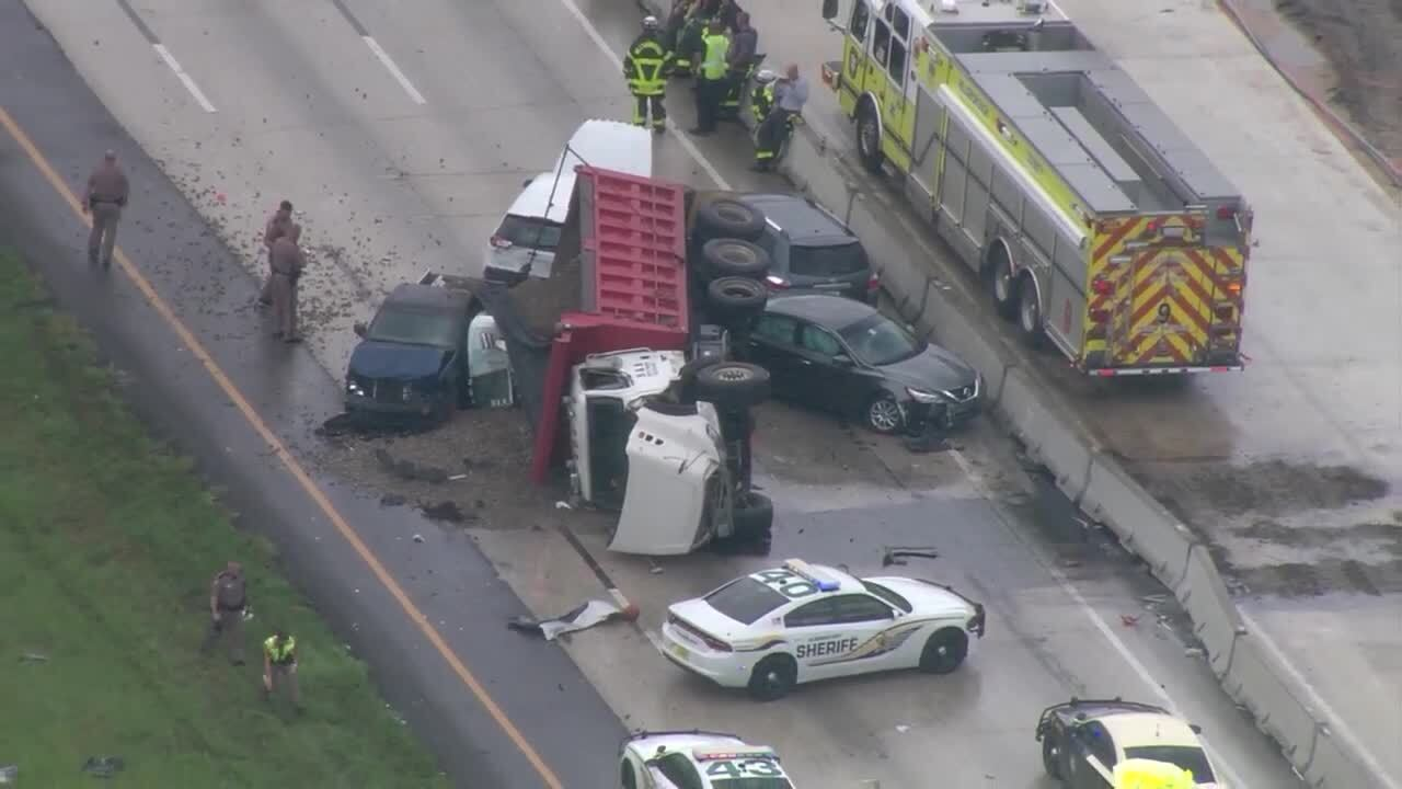 Deadly crash involving dump truck shuts down I-75 south for hours