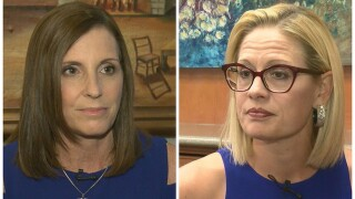 McSally campaign and Sinema Campaign release statements following Sinema's lead
