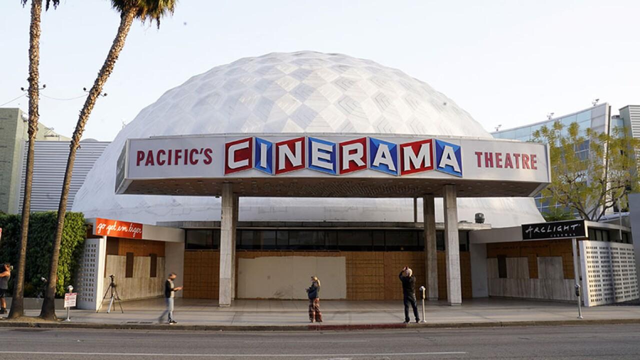 pacific theaters cinerama