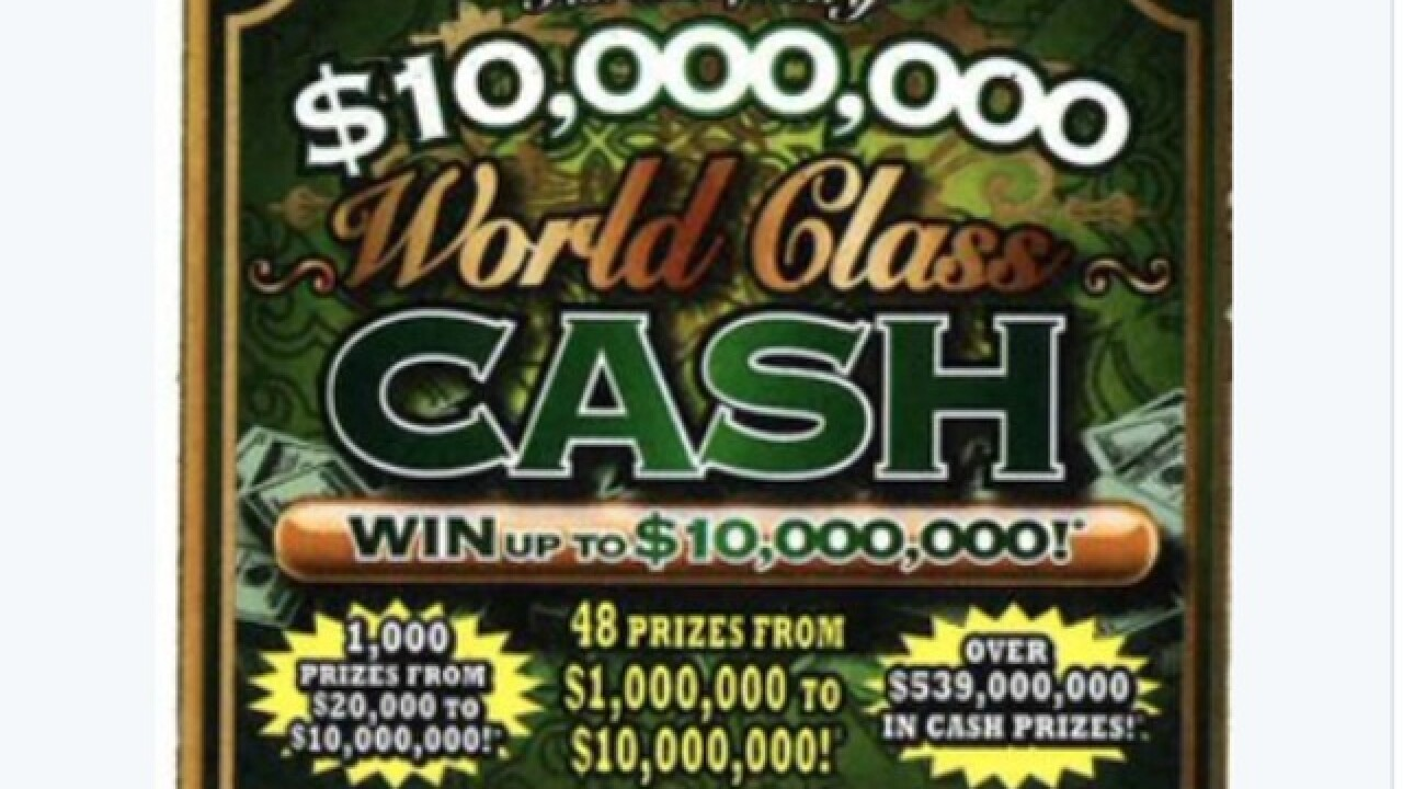 $1 million prize won playing a scratch-off game in Naples