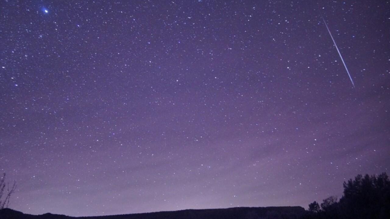 Geminid meteor shower peaks this week