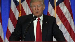 Donald Trump statue unveiled at Madame Tussauds