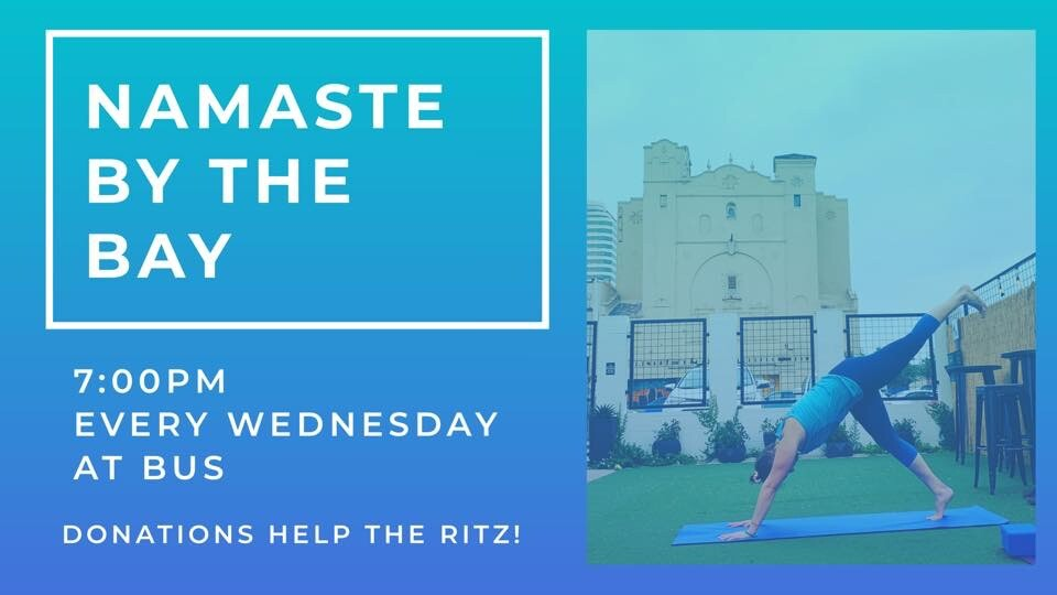 Do Yoga and support the Ritz Theatre at the same time