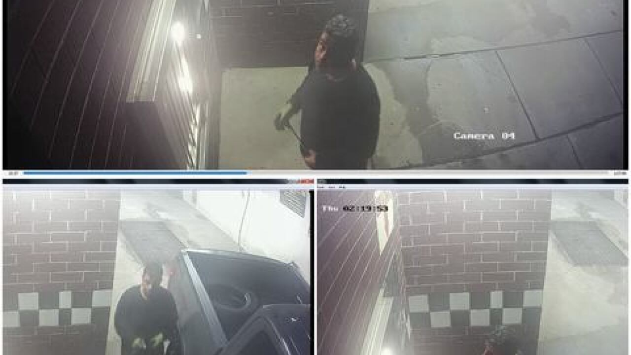 Police say suspect stole coins from self service car wash 3 times since September