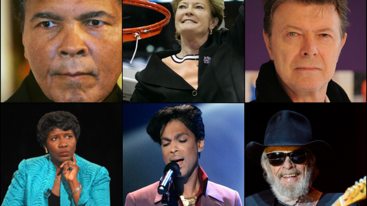 2016 celebrity deaths: Look back at those we lost this year