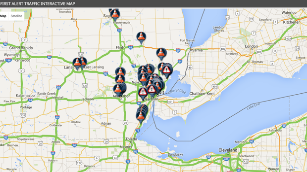 Live Traffic Check The Map Before Your Commute