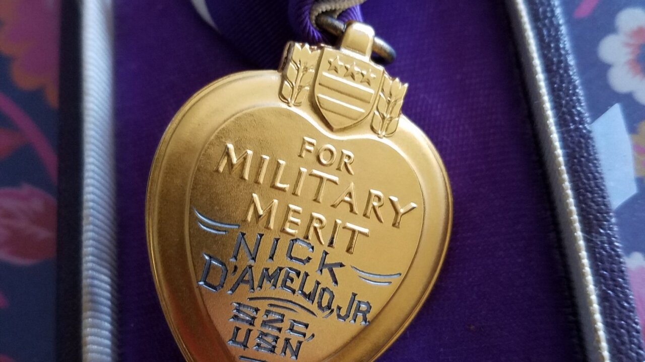 A Purple Heart medal ended up at a Goodwill store in Arizona. They want to find the rightful owner