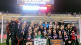 Loveland girls soccer team wins first state title