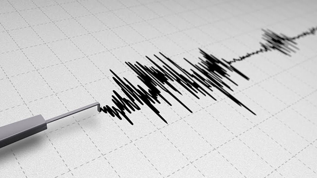 Magnitude 3.1 earthquake recorded in central Oklahoma