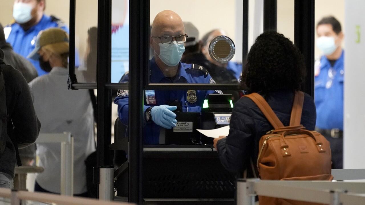 Virus Outbreak Holiday Travel Texas