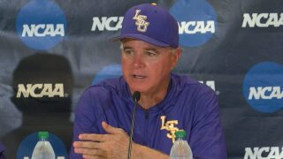 LSU Advances to NCAA Regional Championship Round with 8-4 win over Southern Miss
