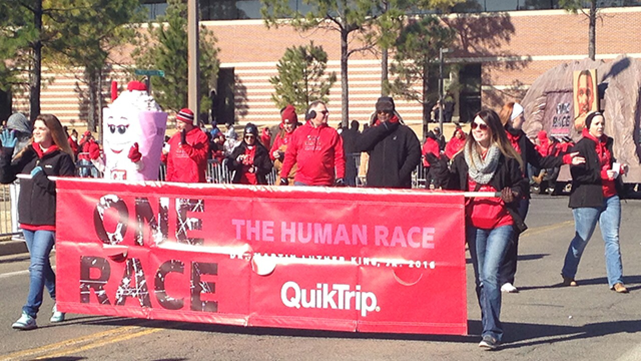 MLK parade Tulsa 2016
