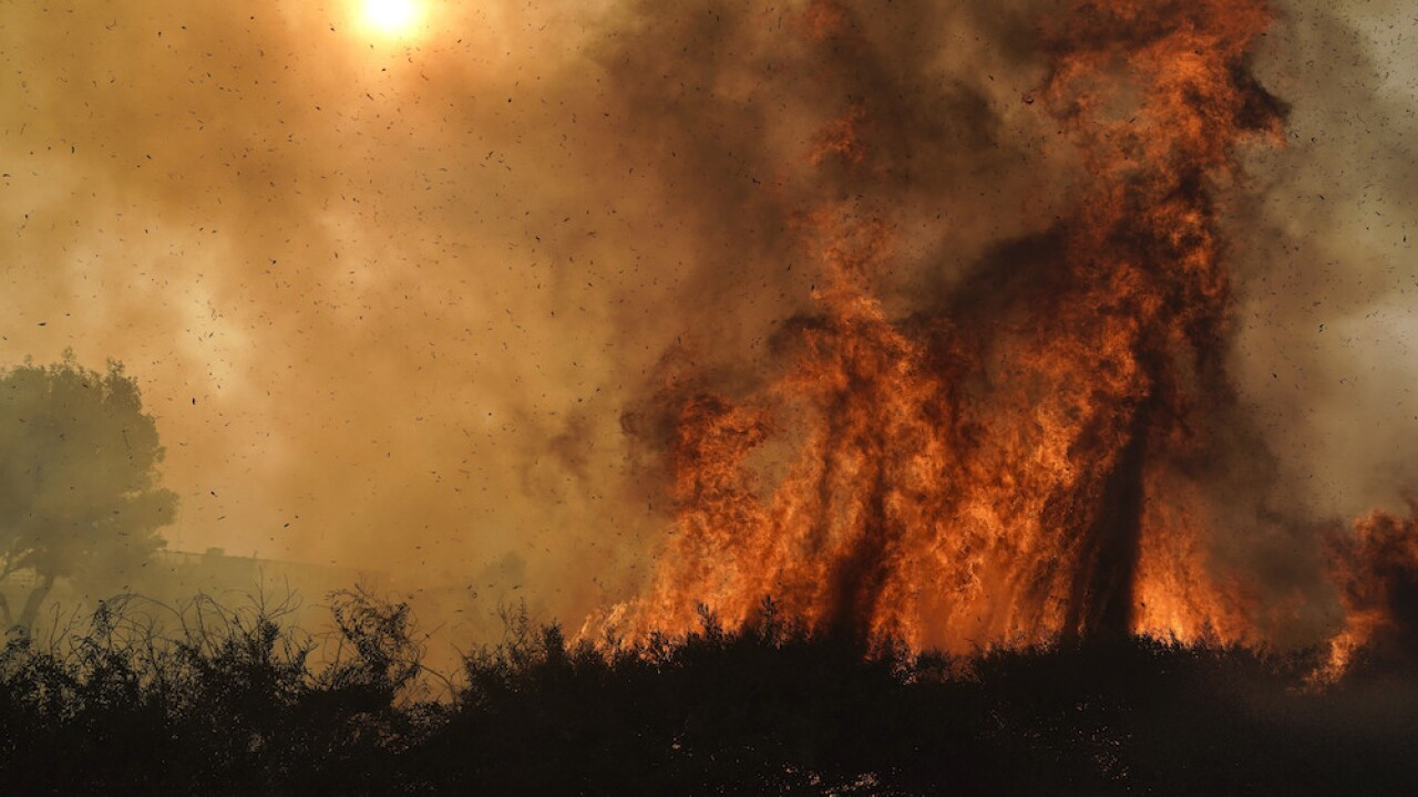 Silverado Fire: SoCal wildfire has prompted 90K evacuations, hurt 2 firefighters
