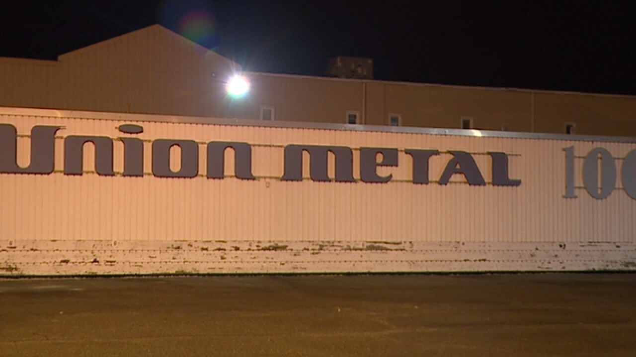 9d637ceafbe385 Union Metal in Canton to shut down in 2018