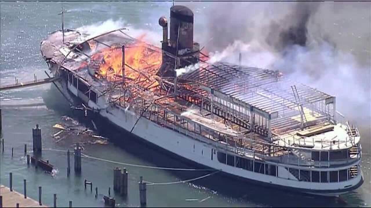 Investigators Say Welding Spark Caused Massive Boblo Boat Fire