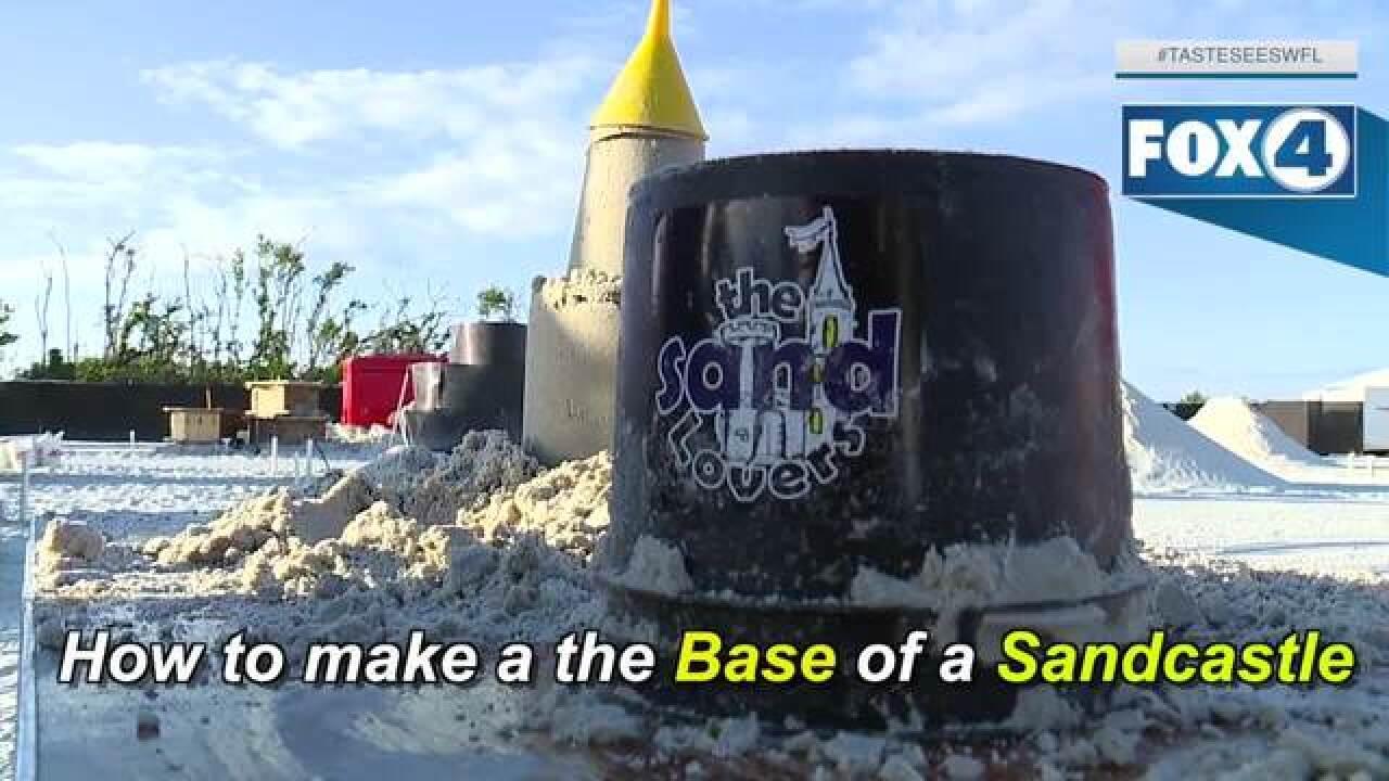The American Sandsculpting Championship begins