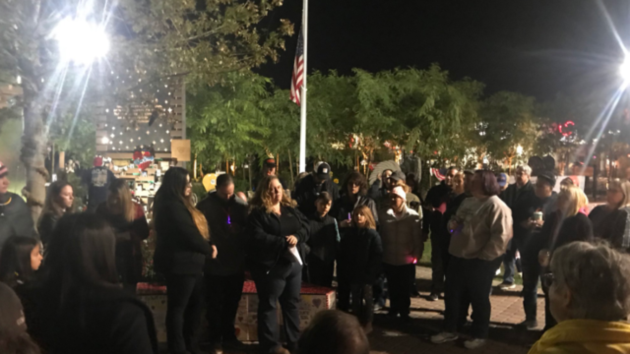 Healing Garden hosts vigil after shooting in CA