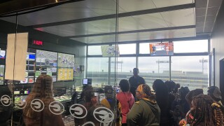 Control room at Lambeau Field