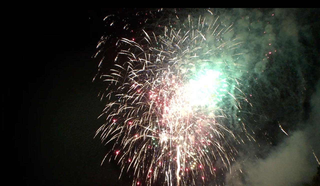 Fireworks in Mid-Michigan
