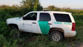 The Border Patrol says this vehicle is a fake and was used in an attempt to smuggle migrants into the U.S.
