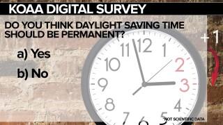 Daylight savings time survey