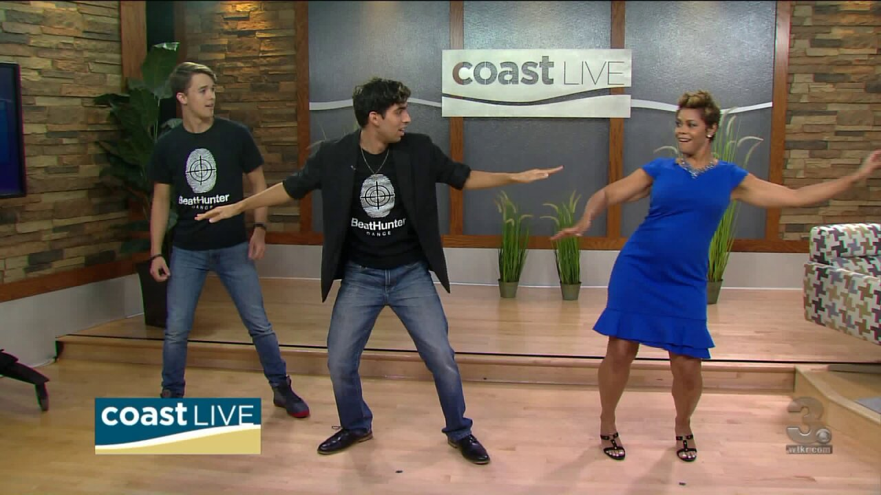 We get moving with a lesson from BeatHunter Dance on Coast Live