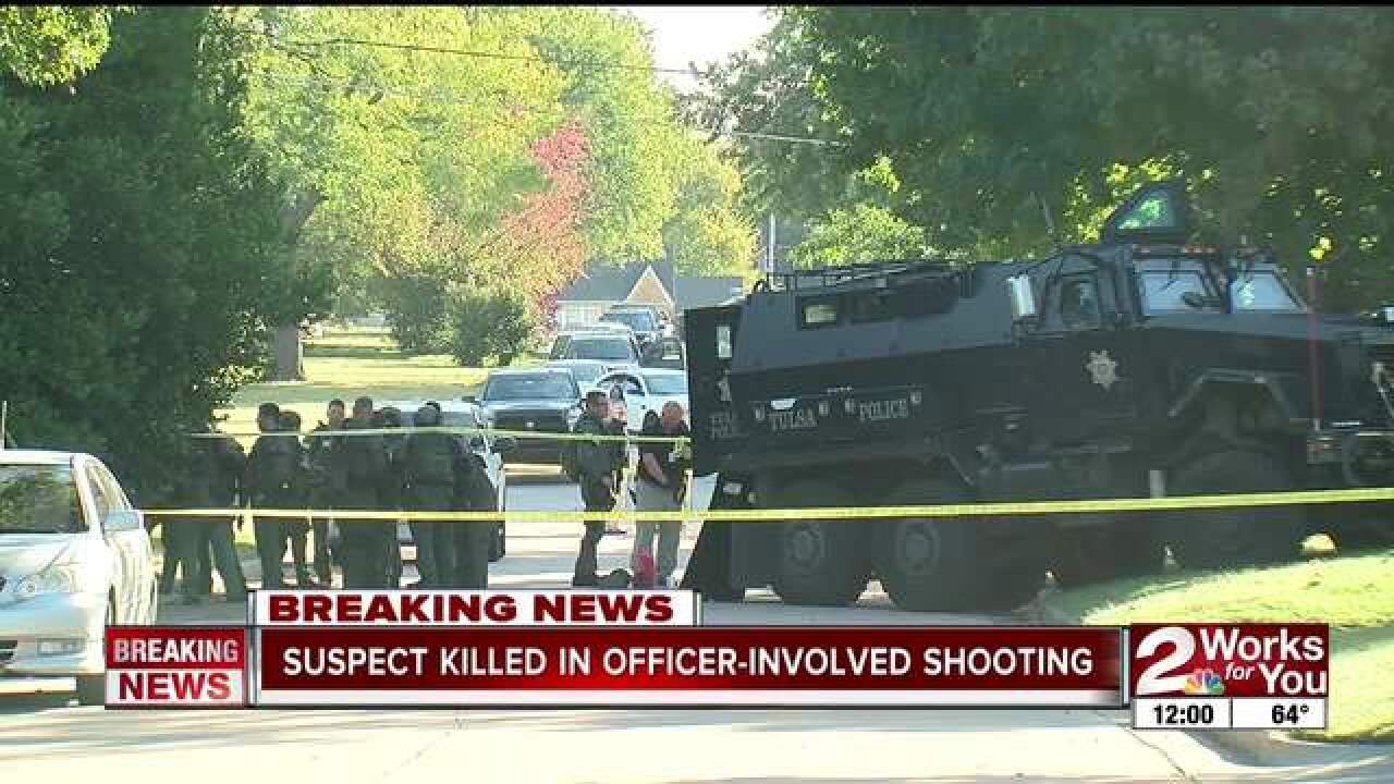 Suspect shot in officer-involved shooting