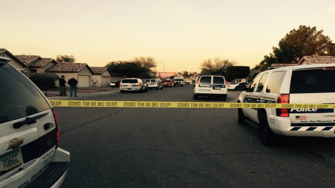 PD: Teen shot, killed at home in Phoenix