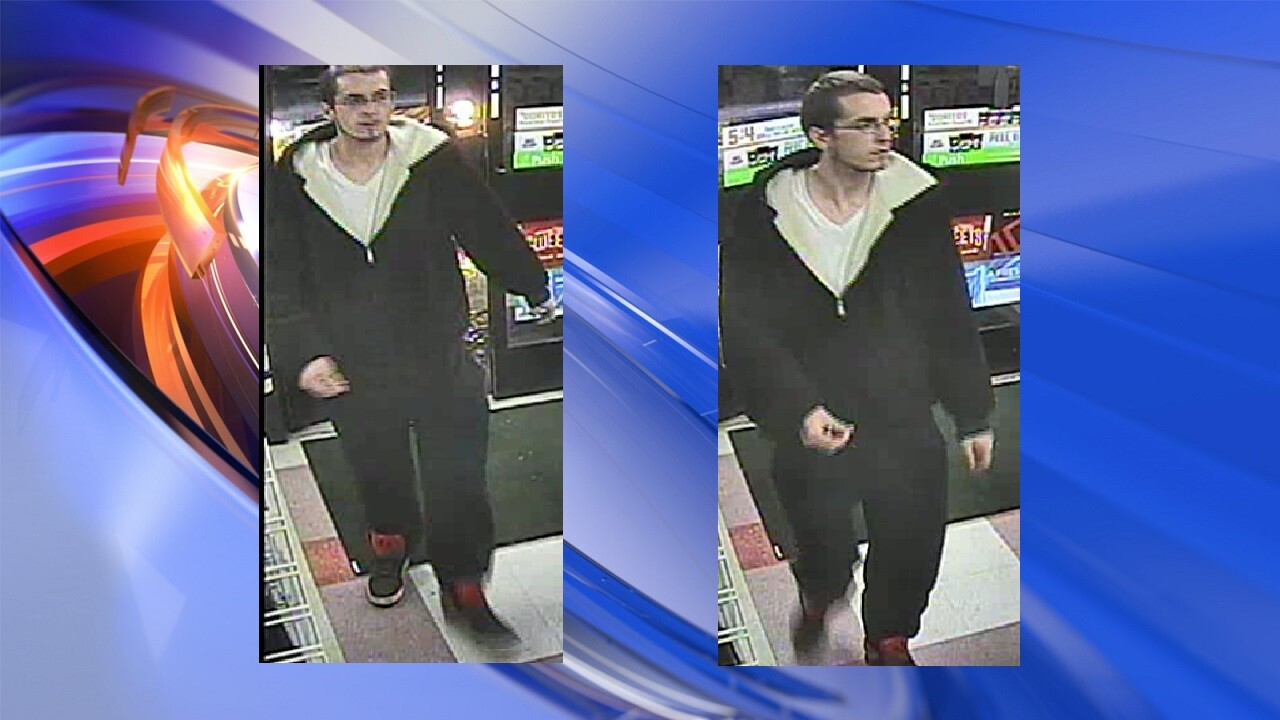 Man wanted by Chesapeake Police for stealing donationjars